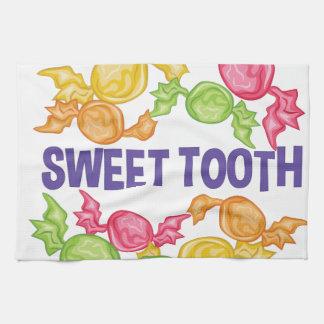 Süßer Zahn Handtuch