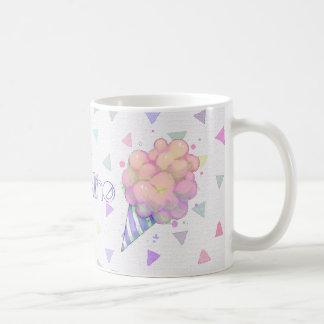Süßes Cottoncandy Aquarell Kaffeetasse