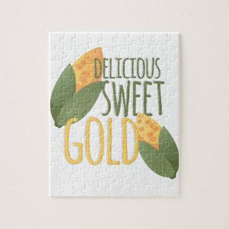 Süßes Gold Puzzle