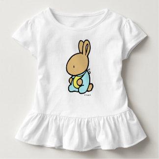 Süßes Häschen-Kleinkind-Rüsche-T-Stück Kleinkind T-shirt