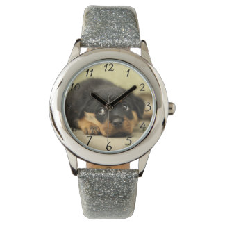 Süßes Hündchen Armbanduhr