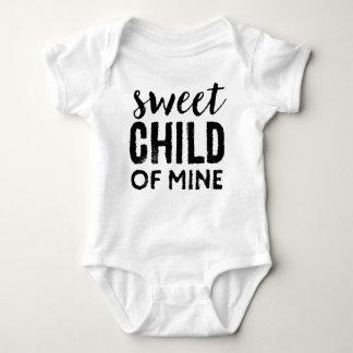 Süßes Kind des Bergwerk-Säuglings-Shirts Baby Strampler