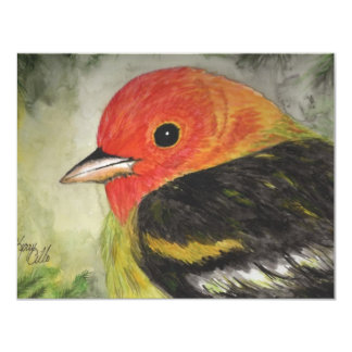 Süßes kleines Vogel-Aquarell Ankündigung