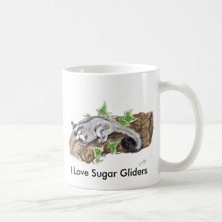 Süßes kleines Zuckersegelflugzeug Joey Kaffeetasse