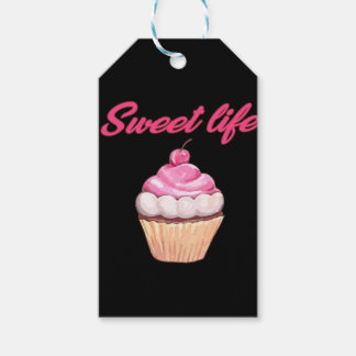 Süßes Leben Geschenkanhänger