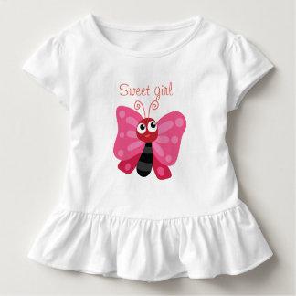 Süßes Mädchen Kleinkind T-shirt
