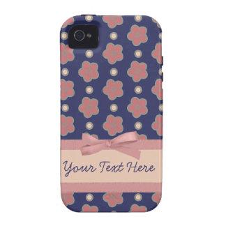 Süßes mit Blumenkundengerechtes iPhone 4 Case