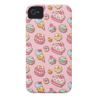 Süßes Muster iPhone 4 Case-Mate Hülle