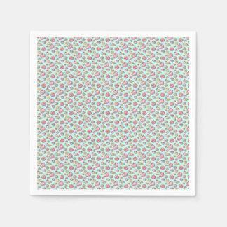 Süßes Muster Papierserviette
