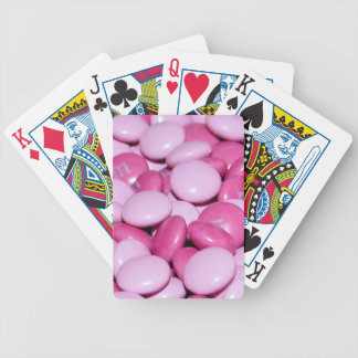 Süßes Rosa Bicycle Spielkarten