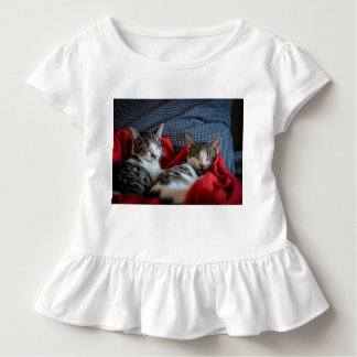 Süßes SchlafenKätzchen Kleinkind T-shirt