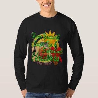 Süßes Tee-u. Sonnenschein-Weihnachten Nashvilles T-Shirt