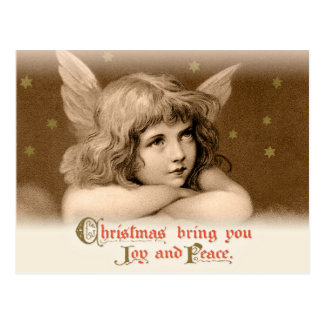 Süßes träumerisches Kinderengel CC0782 Weihnachten Postkarte