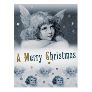 Süßes träumerisches Kinderengel CC0783 Weihnachten Postkarte
