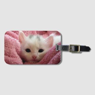 Süßes weiches Kätzchen Gepäckanhänger