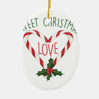 Süßes Weihnachten Keramik Ornament