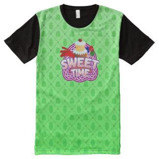 Süßes Zeitgrün aller DruckT - Shirt