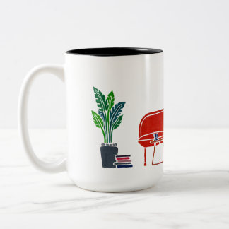 """Süßes Zuhause"" Handmalerei Tasse"
