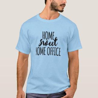 Süßes Zuhausebüro des Zuhause T-Shirt