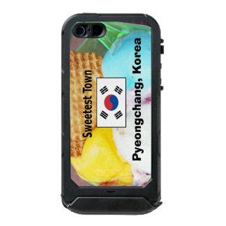 """Süßeste Stadt"" Entwurf - Pyeongchang, Südkorea Incipio ATLAS ID™ iPhone 5 Hülle"