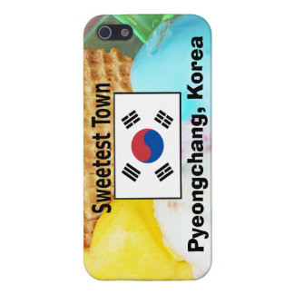 """Süßeste Stadt"" Entwurf - Pyeongchang, Südkorea iPhone 5 Etui"