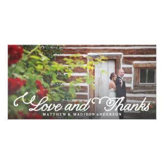 Süßester Tag Wedding | danken Ihnen Foto-Karte Photo Karte