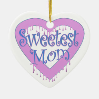 Süßestes Mamma-Herz Keramik Ornament