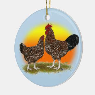 Sussex-Sonnenaufgang Keramik Ornament