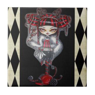 Süßholz Cin Cin Fantasie Goth Süßigkeits-Kunst-Fli Kleine Quadratische Fliese