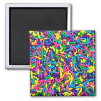 Süßigkeit besprüht Druckmagneten Quadratischer Magnet