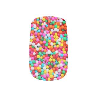 Süßigkeit besprüht Foto-Hipster-Feinschmecker Minx Nagelkunst