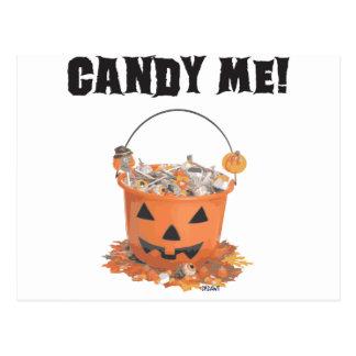 Süßigkeit ich postkarte