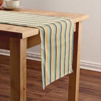 Süßigkeit Stripes Muster Kurzer Tischläufer