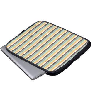 Süßigkeit Stripes Muster Laptopschutzhülle