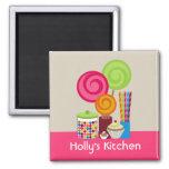 Süßigkeit u. Süßigkeitens-Küchen-Magnet Kühlschrankmagnet