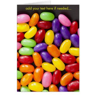 Süßigkeit, viele süßen Süßigkeiten Karte