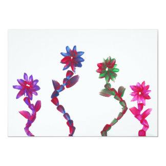 Süßigkeit wässert Autismus-Künstler-Einladungen 12,7 X 17,8 Cm Einladungskarte