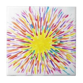 Süßigkeit wässert Autismus-Künstler-Fliesen Kleine Quadratische Fliese