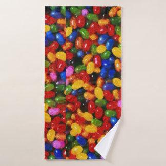 Süßigkeiten Badhandtuch Set