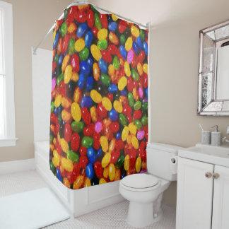 Süßigkeiten Duschvorhang