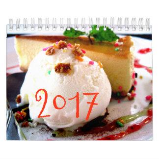 Süßigkeiten tragen 2017 ein abreißkalender