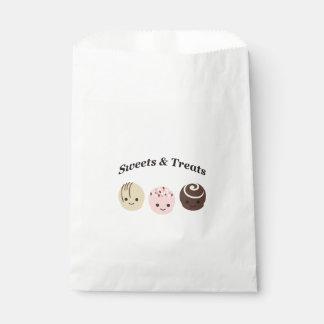 Süßigkeiten und Leckereien Geschenktütchen