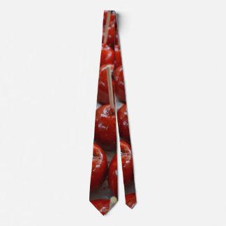 Süßigkeits-Äpfel in Fantasyland Bedruckte Krawatte