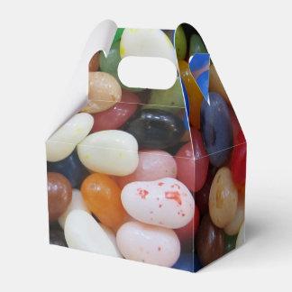 Süßigkeits-Beschaffenheits-Schablone blaues Grün Geschenkschachtel