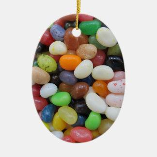 Süßigkeits-Beschaffenheits-Schablone blaues Grün Keramik Ornament