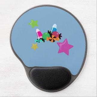 Süßigkeits-Collagen-Halloween-Entwurf Gel Mousepad