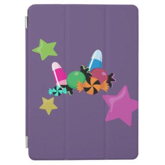 Süßigkeits-Collagen-Halloween-Entwurf iPad Air Cover
