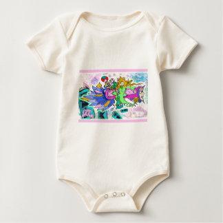 Süßigkeits-Dame Baby Strampler