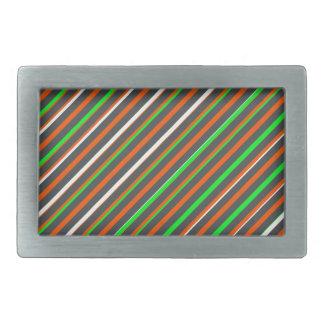 Süßigkeits-Farbrechteck-Schnalle Rechteckige Gürtelschnalle