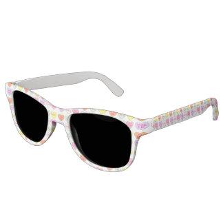 Süßigkeits-Herz-Herz-Liebe-Sonnenbrillen des Brille
